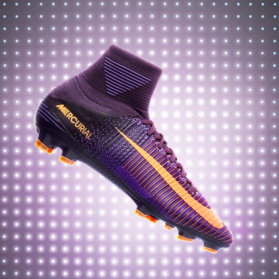 Детские бутсы Nike Mercurial Veloce III DF FG - Purple Dynasty Bright Citrus  Hyper Grape b3e52e14135