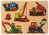 Деревянная рамка-вкладыш Транспорт