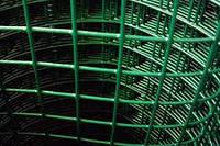 Сетка сварная с ПВХ покрытием 2,5*50*50мм/1,5м *10м зеленая BudmonsteR PRIME