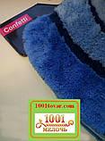 """Акриловый коврик """"Confetti"""" в ванную или туалет БЕЗ выреза под унитаз, 50х60 см., 1 шт., фото 2"""
