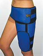 Бандаж тазобедренный на правую ногу. Размер S, M, L, XL. Черный, синий