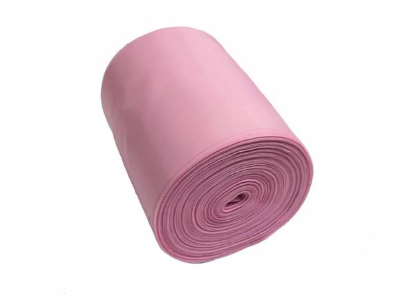 Лента шелковая розовая 10см, фото 2