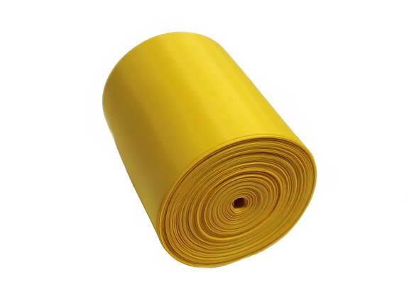 Лента шелковая желтая 10см, фото 2
