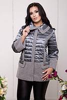Женская демисезонная куртка 60-70рр большого размера