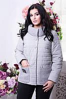 Женская демисезонная куртка 50-64рр большого размера