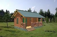 Строительство Деревянной бани (сауны) под ключ