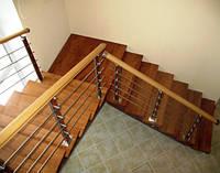 Деревянные маршевые лестницы – надежность, комфорт, красота ( интересные статьи)