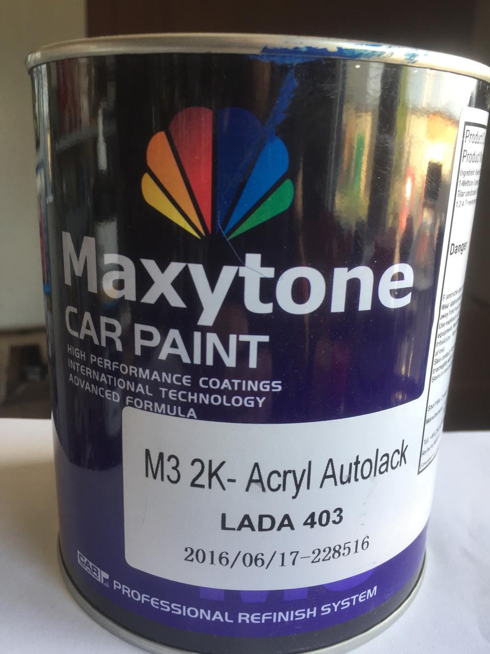 Акриловая краска Maxytone Lada 403 monte karlo (цвет синий)