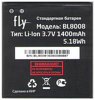 Аккумулятор (батарея) BL8008 для мобильных телефонов Fly FS401 Stratus 1