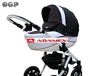 Детская универсальная коляска Adamex Barletta  06P (2 в1) купить оптом и в розницу в Украине 7 километр