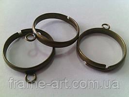 Основа для кольца 8*3мм антическая бронза 1шт