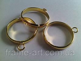 Основа для кольца 8*3мм золото 1шт