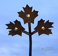 Уличный светодиодный светильник LUNAE ML 50 W три листа