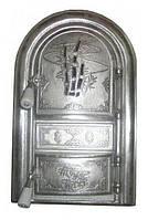 """Дверцы печные со стеклом """"Бамбук"""". Дверцы для кухни, барбекю"""