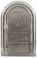 """Дверцы печные """"Лев"""" арочный. Дверцы для кухни, барбекю"""