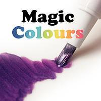 Блестящие краски с кистью Magic Colours