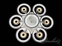 Потолочная светодиодная люстра 120W 8053-6+1