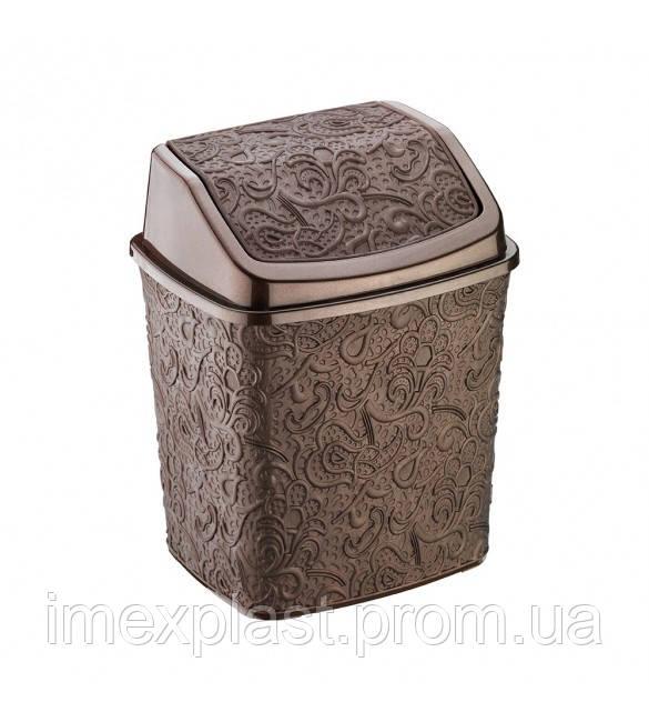 Ведро для мусора АЖУР Elif Plastik - 384