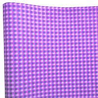 """Подарочная бумага ретро """"Квадраты"""" (78) фиолет+сирень"""