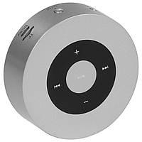 Портативный динамик BL Keling A8 серебро Bluetooth AUX кнопки навигации смартфона музыка металлическая android