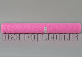 Сизалевый лист в рулоне розовый 50см/5м 14