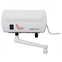 Atmor (Израиль) Электрический проточный водонагреватель Atmor BASIC  3.5 kw кран