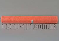 Сизалевый лист в рулоне персиковый 50см/5м 13