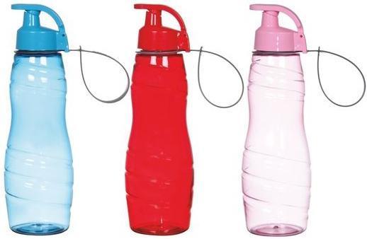 Бутылка спортивная Herevin Tiger Mix 750мл с петлей для переноса - Twinki в Киеве