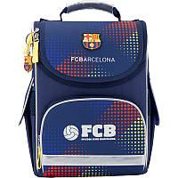 Рюкзак школьный каркасный 501 FC Barcelona BC17-501S
