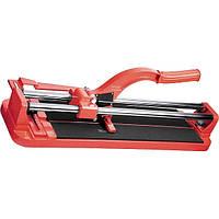 Плиткорез 400 х 16 мм, литая станина, направляющая с подшипником, усиленная ручка// MTX