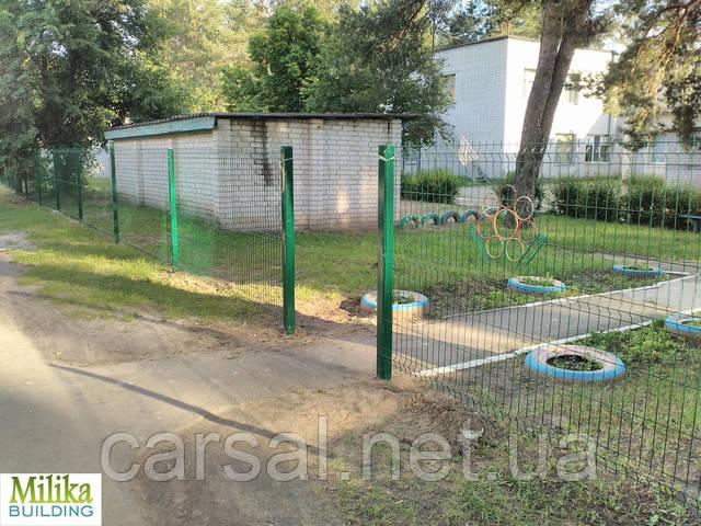 Забор из сварной сетки  Оригинал 3*4 2,5*1.53