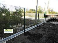 Забор из сварной сетки  Оригинал 3*4 2,5*1.73, фото 1