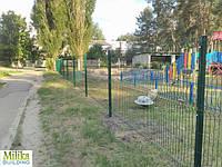 Забор из сварной сетки  Оригинал 3*4 2,5*2.03