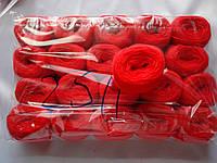 Нитки акриловые для вышивания красные