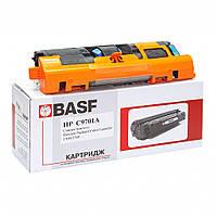 Картридж BASF для HP CLJ 1500/2500 аналог C9701A Cyan (KT-C9701A)