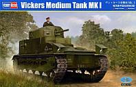 1:35 Сборная модель танка Vickers Medium Mk.I, Hobby Boss 83878