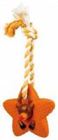 Рождественская игрушка латекс Trixie Звезды на канате, 33см