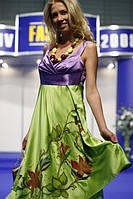 Ручная роспись платья