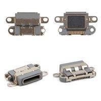 Коннектор зарядки для мобильного телефона Apple iPhone 6S Plus, черный, Lightning для Apple