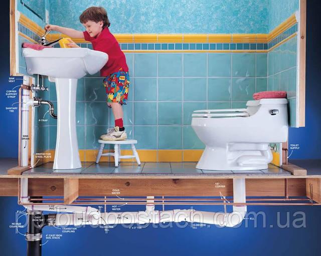 Как провести в доме канализацию.