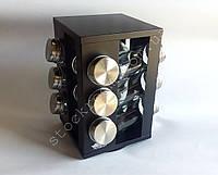 Набор для специй Peterhof PH-12870 на оборачиваемой, металлической  стойке, фото 1