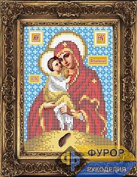 Схема для вышивки бисером иконы Почаевская Пресвятая Богородица (ИБ5-082-1)