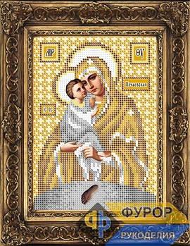 Схема для вышивки бисером иконы Почаевская Пресвятая Богородица (ИБ5-082-2)
