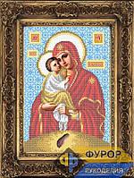 Схема иконы для вышивки бисером - Почаевская Пресвятая Богородица, Арт. ИБ4-067-1