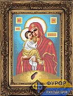 Схема иконы для вышивки бисером - Почаевская Пресвятая Богородица, Арт. ИБ4-067-2