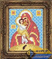 Схема иконы для вышивки бисером - Почаевская Пресвятая Богородица, Арт. ИБ6-087