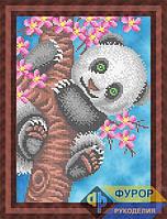 Схема для вышивки бисером - Панда на дереве, Арт. ЖБч4-048