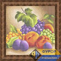 Схема для вышивки бисером - Натюрморт из фруктов, Арт. НБп29-9