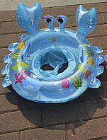 Круг надувной плавательный «Краб» с трусиками