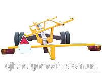 Универсальная Універсальний одновісний візок одноосная тележка Carrello   для транспортировки жатки от 9метров